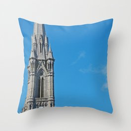 St Colman's Cathedral, Cobh Throw Pillow