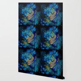 OLD NEW BORROWED BLUE Wallpaper