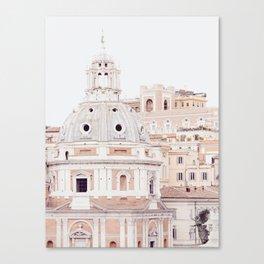Pale Rome Canvas Print