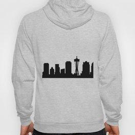 Seattle skyline Hoody
