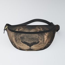 The black lion Fanny Pack