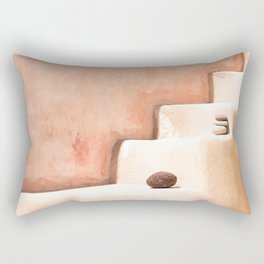 Stairway in Santorini Rectangular Pillow