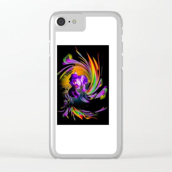 Fertile imagination 18 Clear iPhone Case