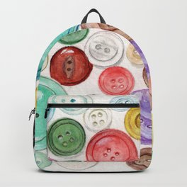 Buttons! Backpack