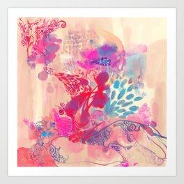 LOTUS - BUD Art Print