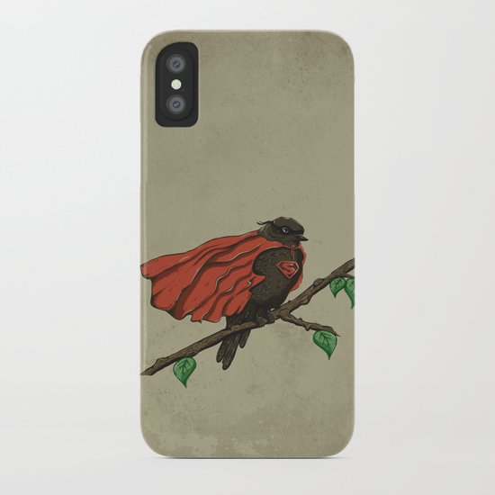 Super Bird iPhone Case