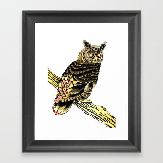 Owl Owl Owl Framed Art Print