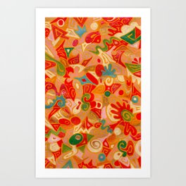 Chantal Art Print