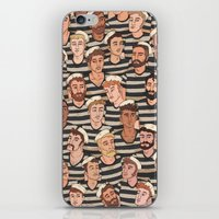 boys iPhone & iPod Skins featuring Boys, Ahoy! by Rory Midhani