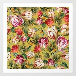 Botanical Florals Design Art Print