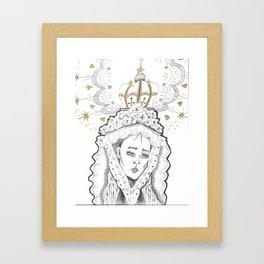 madre Framed Art Print