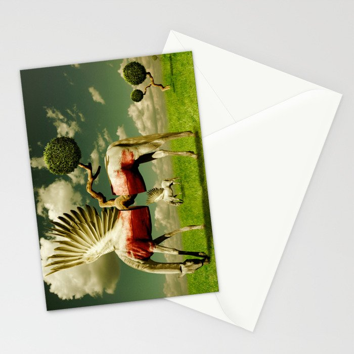 Pegasus Divided Stationery Cards