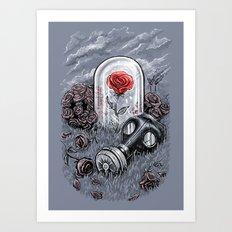 The Last Flower On Earth Art Print