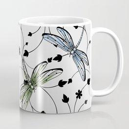 Dragonflies in the garden Coffee Mug