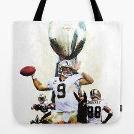 Super New Orleans Saints NFL Football Tote Bag
