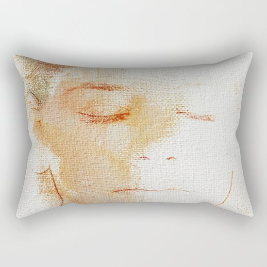 The Color Peace 1 Rectangular Pillow