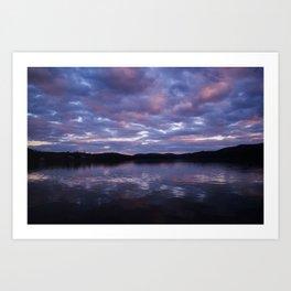 Reflections of Light Art Print