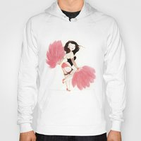 burlesque Hoodies featuring Burlesque Bombshell by Stasia B