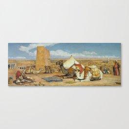 Edfu, Upper Egypt Canvas Print