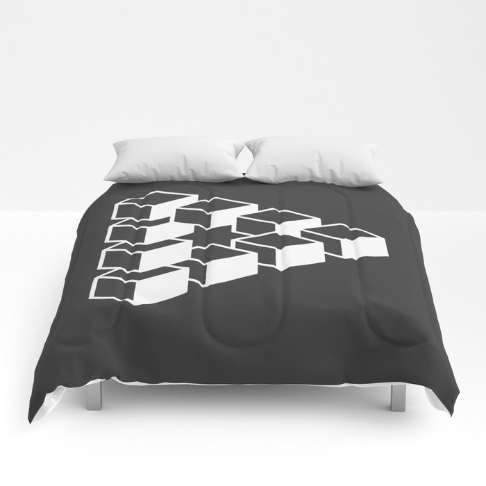 Optical Illusion Comforters