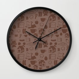 SHANHAIJING-BreadBear-HAI (GoodMorningHAI) Wall Clock