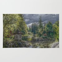 poland Area & Throw Rugs featuring Hortulus-Poland HDR by helsch photography
