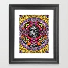 Face One Framed Art Print