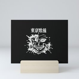 Kaneki Ghoul v4 Mini Art Print