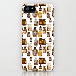 Vintage Chemistry Bottles iPhone Case
