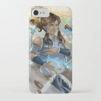 korra iPhone & iPod Cases featuring Korra by Shoko Lam