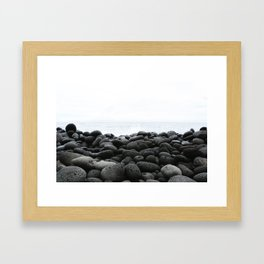 Black Rock Beach Framed Art Print