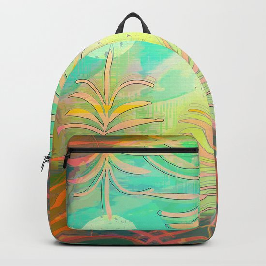 Floral Pollination Backpack