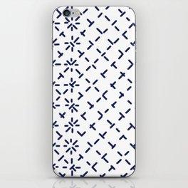 Sashiko 4 iPhone Skin