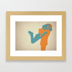When Two Become One - Hug Framed Art Print