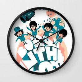 Born in the 60's Wall Clock