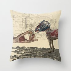 Canidae Throw Pillow