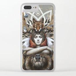 Kwanita Clear iPhone Case