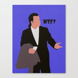 Confused Travolta Canvas Print