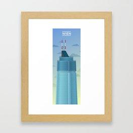 WIEN Framed Art Print