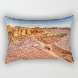 Fire Wave Beauty Rectangular Pillow