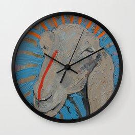 Goathead Wall Clock