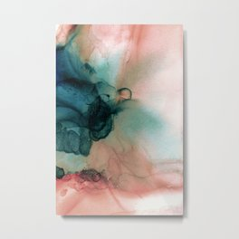 Blue Typhoon Metal Print