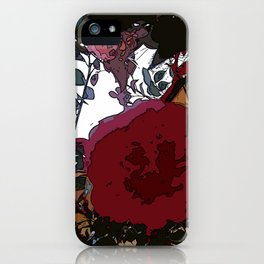 Abstract Roses iPhone Case