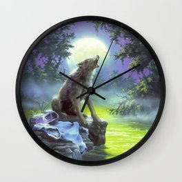 The Werewolf of Fever Swamp Wall Clock