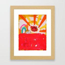Gay Days Framed Art Print