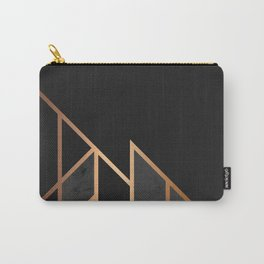 Black & Gold 035 Carry-All Pouch