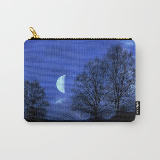 Moon between Trees  - JUSTART © Carry-All Pouch