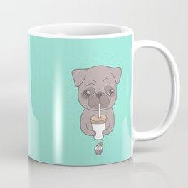 Pug, coffee & cupcake Coffee Mug