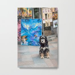 Artist's friend Metal Print