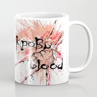 blood Mugs featuring Blood by OnaElena